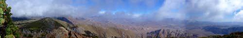 Monument Peak Panorama