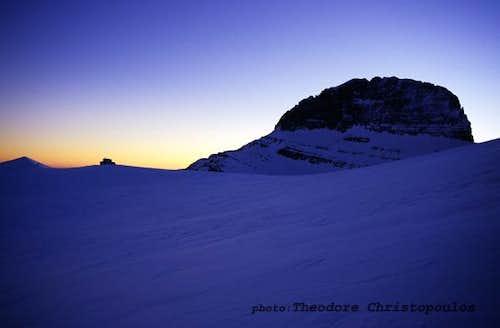 Muses Plateau and Stefani summit.