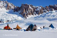 Our camp in the Tordrillos