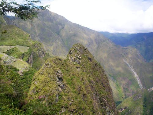 Huchuy Picchu, north side