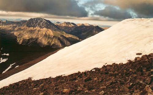 Mount Elbert Summit View