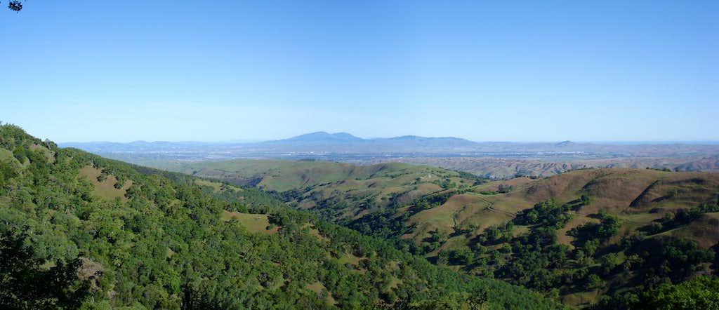 Mt. Diablo from Ohlone Wilderness