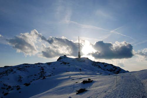 Dobratsch summit (late afternoon)