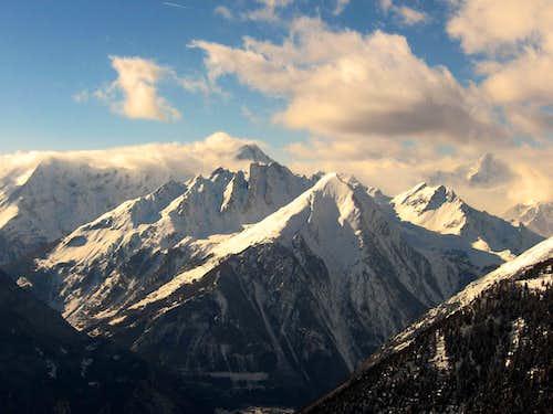 Monte Crammont and Berrio Blanc