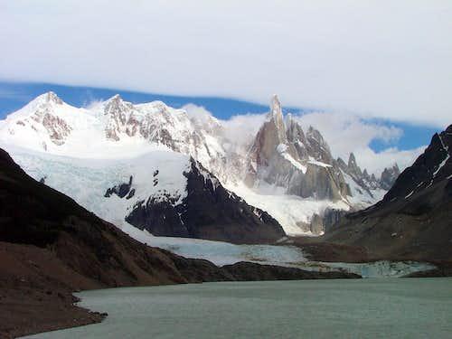 Cerro Torre from Laguna Torre