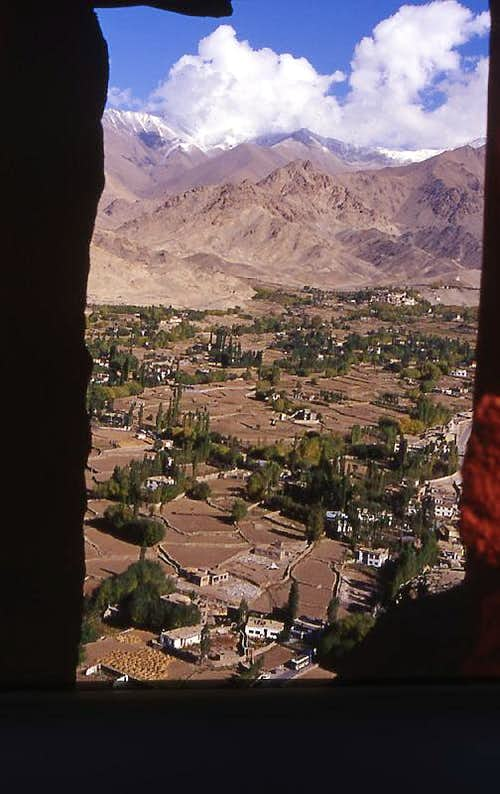 View from Leh