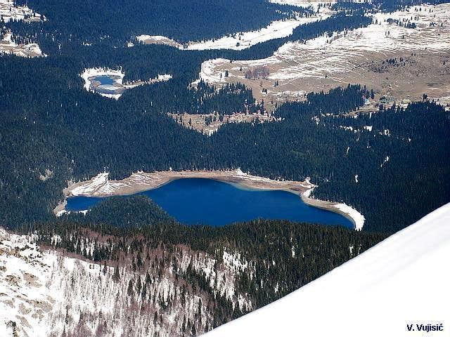 Crno Jezero from Savin Kuk
