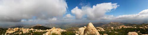 El Cajon Mountain Panorama