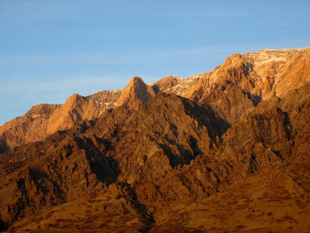 willard peak cliffs