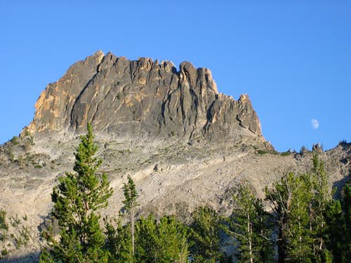 knuckle peak