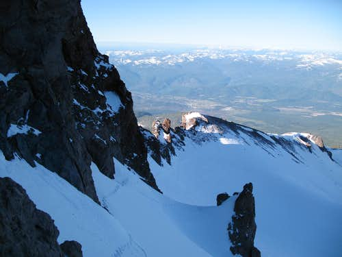 Mt. Shasta - Casaval Ridge 4/16/07