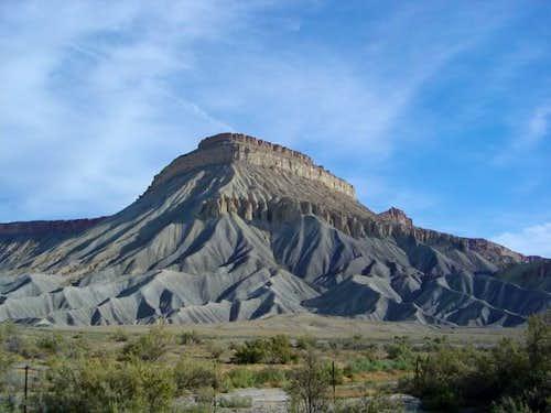 Mount Garfield as seen from...