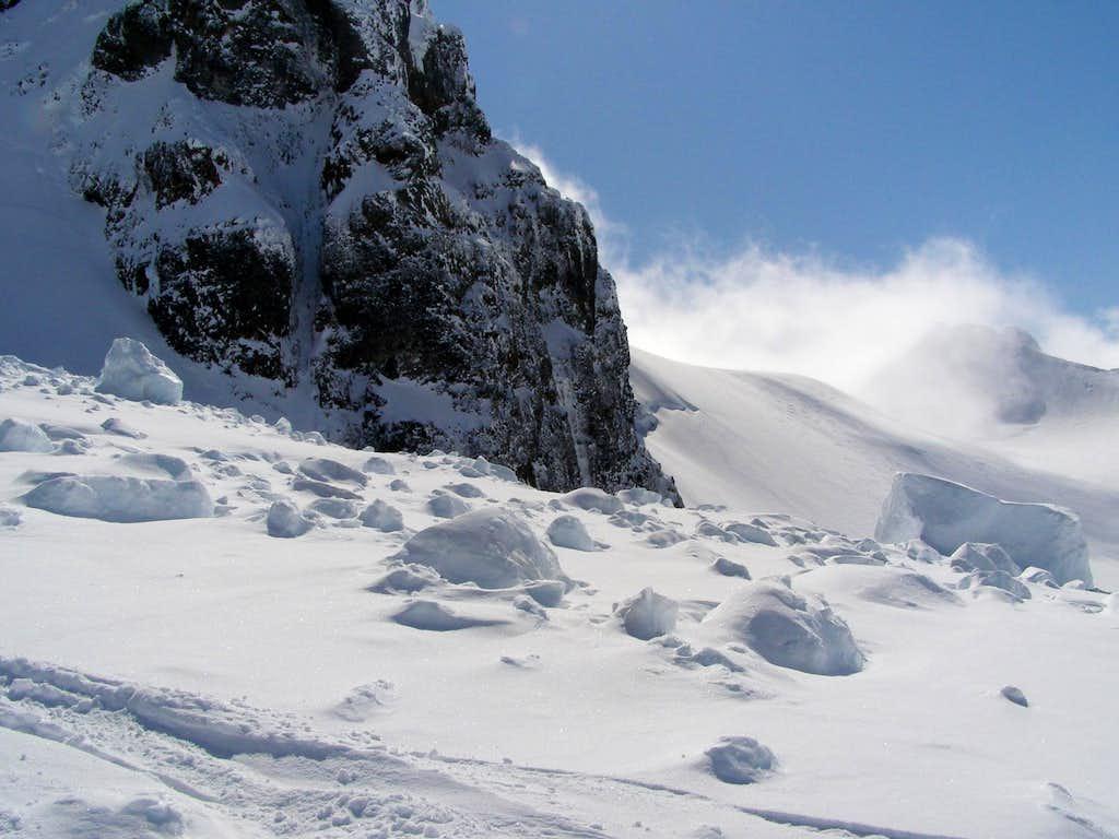 Colfax Peak Serac Fall