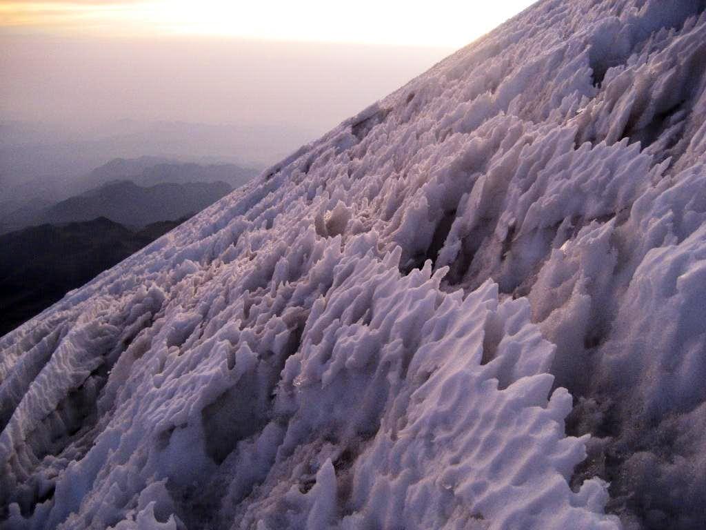 Jampa Glacial Conditions, March 2007
