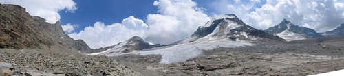 Panorama: Gran Paradiso - Tresenta - Ciarforon - B. di Monciair