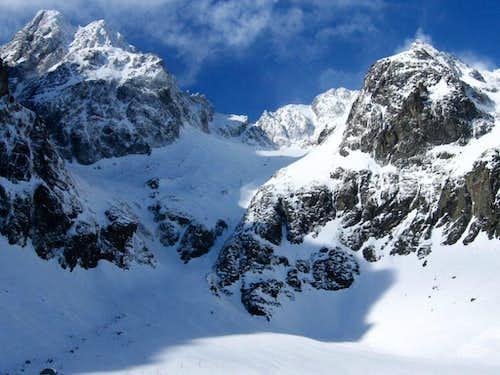 Velká Z'mrzlá Dolina alias Big Papirus Valley, Tatra, Slovakia