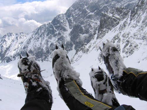 Crampons composition