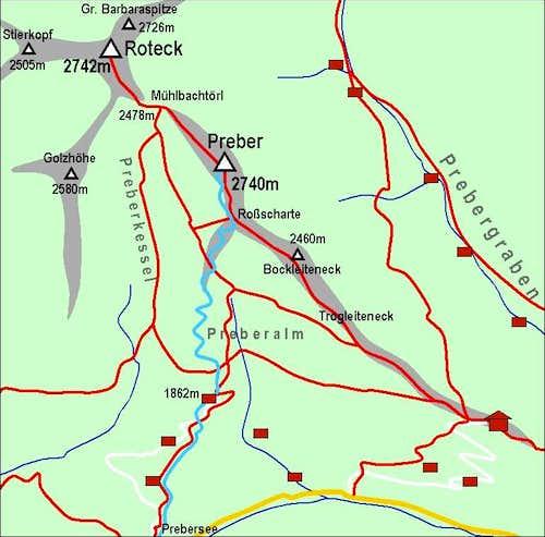 Preber Map
