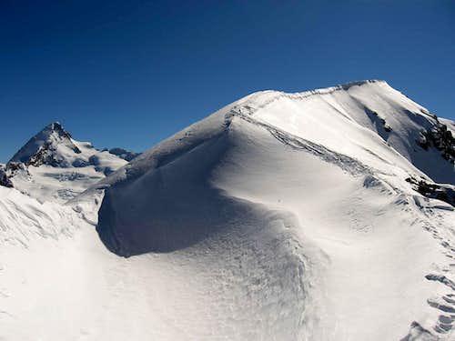 The final ridge.