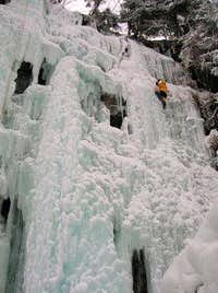 Ice-climbing in Maltatal