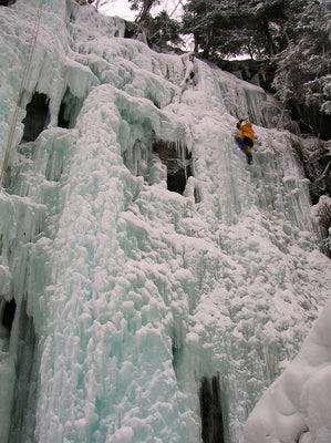 Ice-climbing in Maltatal