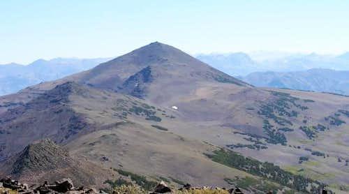 Sonora Peak from Stanislaus...