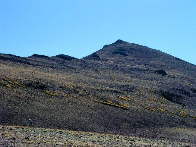 Base of Sonora Peak, near the...