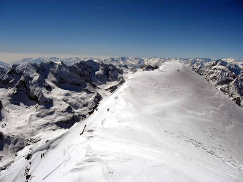 The summit of Mont Brule\'