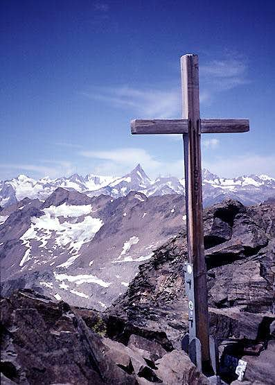 Ofenhorn, Summit cross