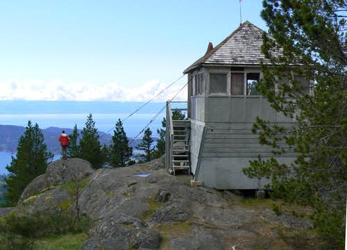 Mt Manuel Quimper Summit Firetower