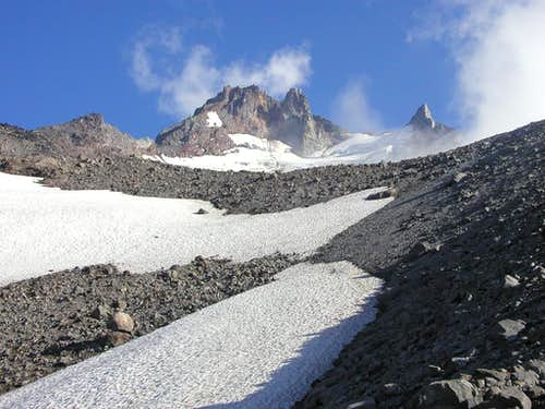 Mt. Jefferson\'s north slopes