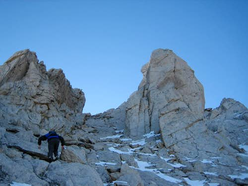 Tower Peak\'s NWChute