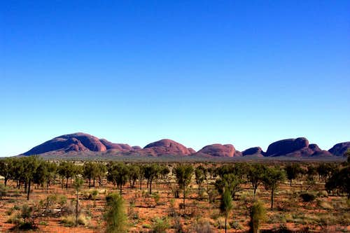 View on Kata Tjuta group