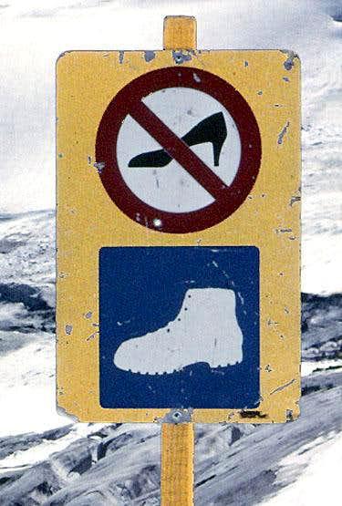 Warning for idiots
