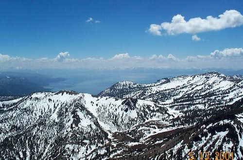 Lake Tahoe from summit