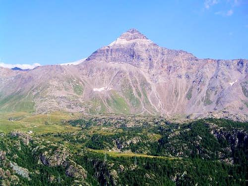 Pizzo Scalino (3323m) from...