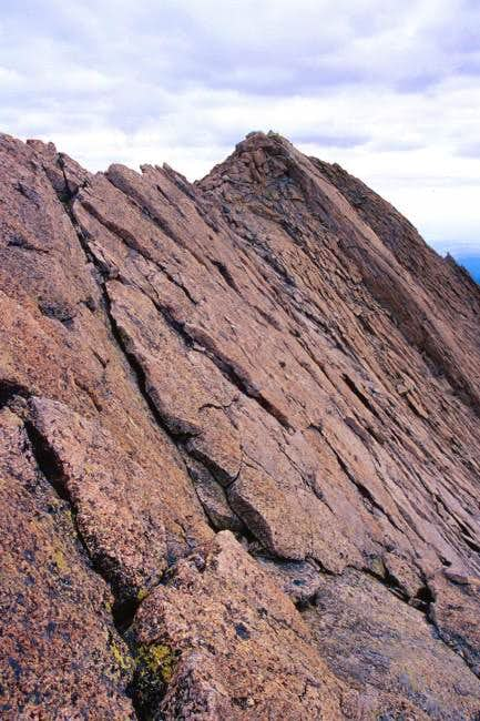 Mt Meeker - sawtooth ridge...