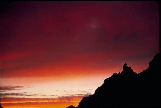 Sunset taken from Sahale Arm.