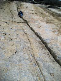Shawna's first Crack climb
