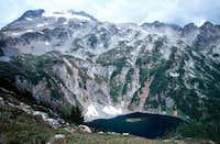 Sahale peak is just visible...