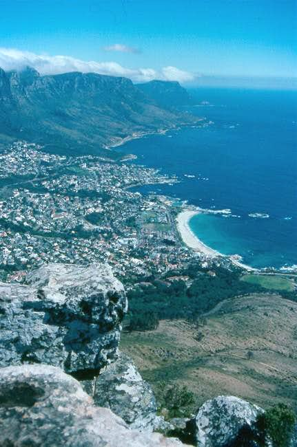 View over Sea Point toward...