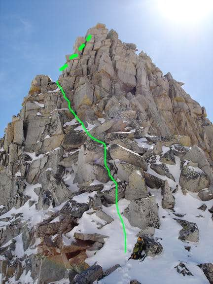 Notch Descent route used.