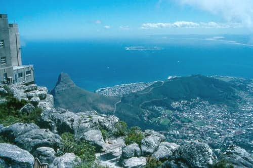 View from Table Mountain. The...