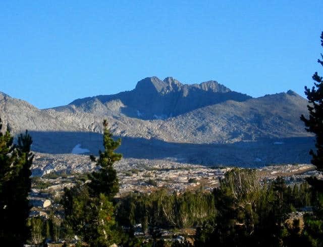 Simmons Peak from below...