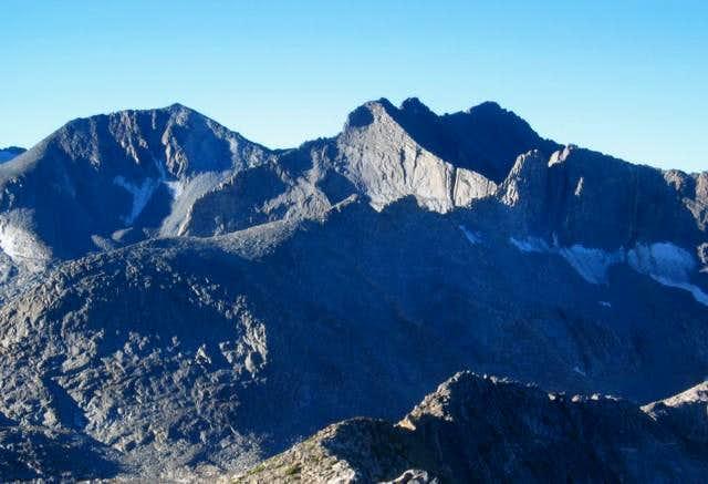 Simmons Peak from Amelia...