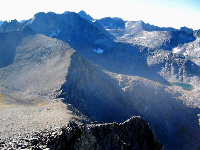 Simmons Peak and the North...