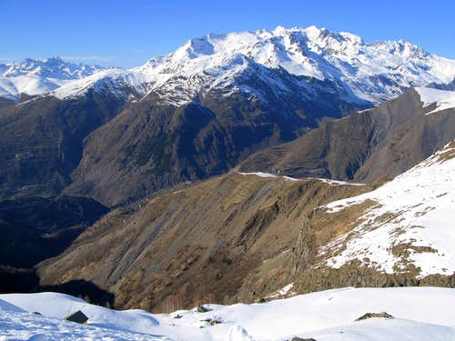 View into Ecrins
