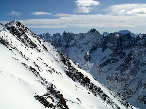 Aiguille du plat de la Selle 3596m