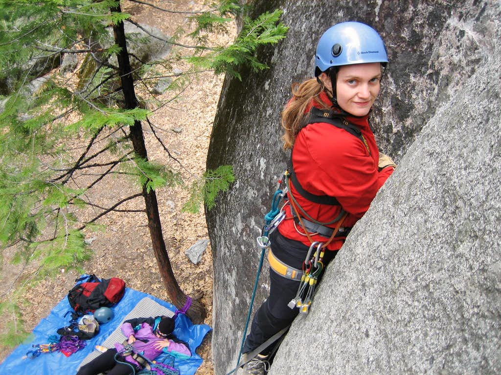 Leading my first aid route