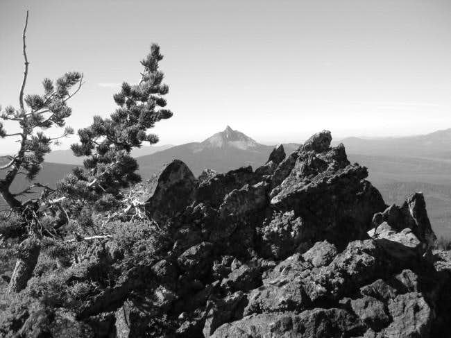 Mt. Washinton from the rim of...